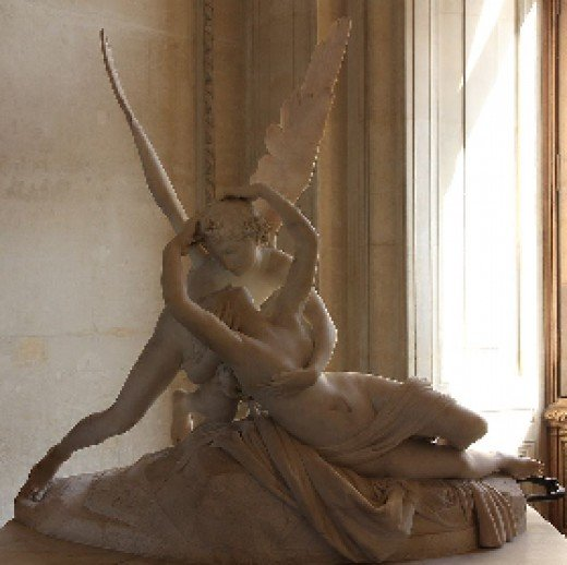 wikipedia--Antonio Canova, Louvre, Paris and Hermitage Museum  St. Petersburg