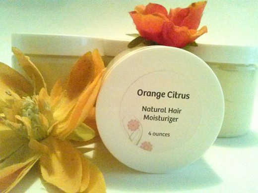 Citrus Orange Shea Butter Hair Cream $28.00