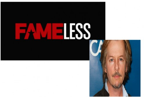 "David Spade, creator of ""Fameless,"" a really bad scripted show."