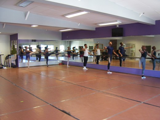 Ballet class at Dance For All, Cape Town