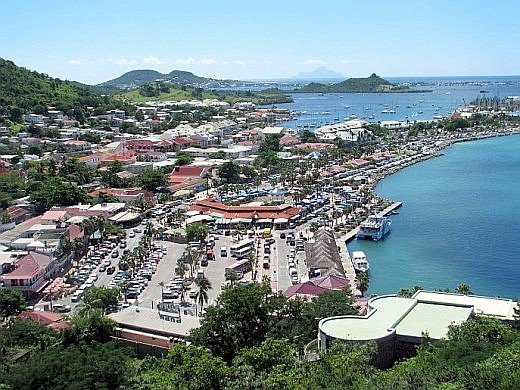 Marigot is fairly easy to visit by rental car or excursion bus. © Scott Bateman