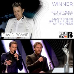 David Bowie wins BRIT Awards