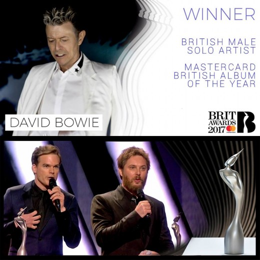 David Bowie and Duncan Jones with Michael C Hall