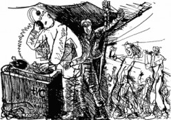 Fierce Dancing: Adventures in the Underground by CJ Stone