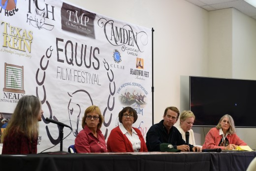 Diana De Rosa with Donna Freyer, Judy Ferrell, Arch Kingsley, Catherine French, and Marsha Hewitt, SC Dept of Agriculture Equine Representative.