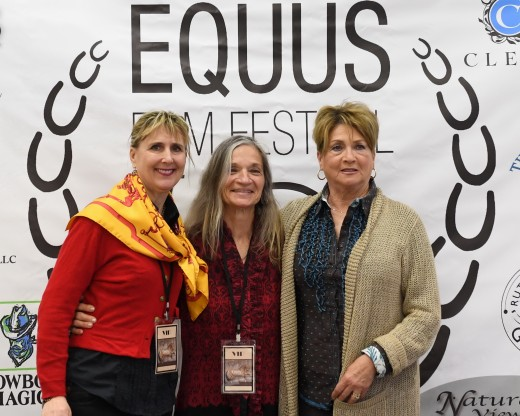 Jill McCrae and Mary Werning who spoke on the Dressage Directors Panel.