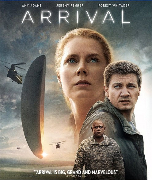 Arrival,  An intriguing Science Fiction Film   C/o Amazon