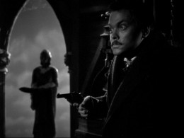 Orson Welles in the film adaptation of the book.