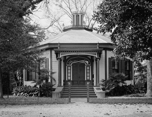 "May's Folly or ""Octagon House"" at 527 First Avenue."