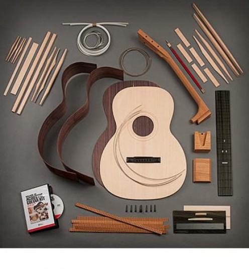 kit from StewMac - nice guitar, but you basically just glue it together and apply finish