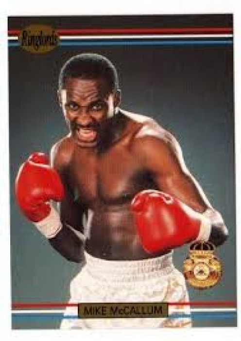 Mike McCallum won championships in the junior middleweight, middleweight and light heavyweight divisions.