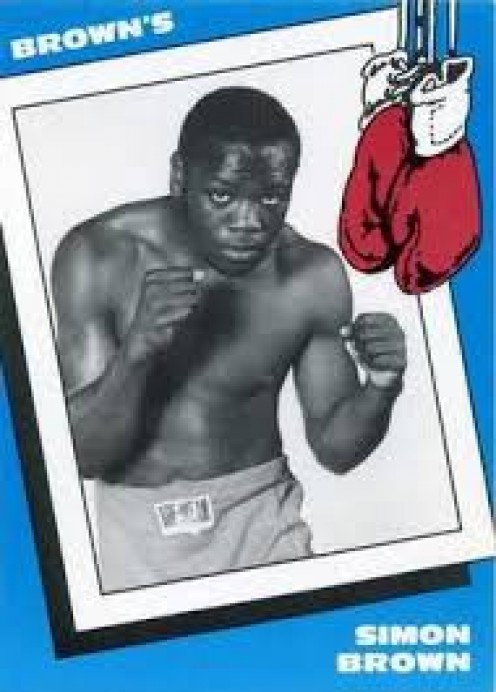 Simon Brown captured championships as a welterweight (147 pounds) and as a junior middleweight (154 pounds).