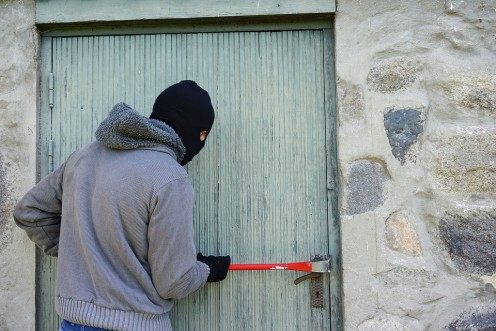 Professional burglars always study the home that they will burglarize and in most cases, the burglar will not be armed.