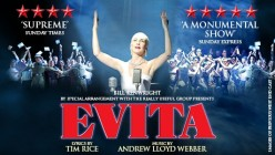 Evita Review at New Wimbledon Theatre