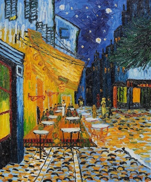 Vincent Van Gogh, Terrace of a Cafe at Night