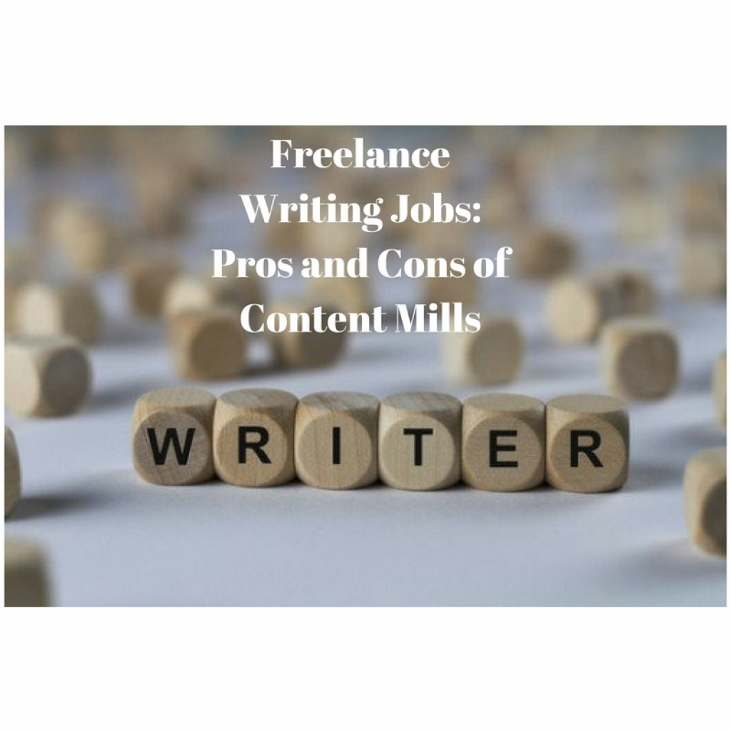 lance writing jobs pros and cons of content mills