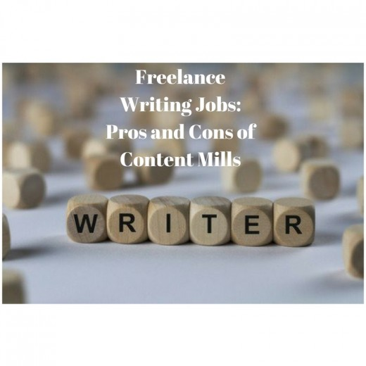 Freelance Writing and the pros and cons of content mills.