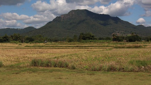 The countryside of Loei