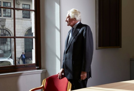 Master of all he surveys:  MIchael Heseltine