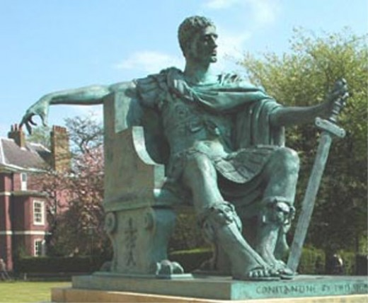"Statue of Constantine, York, then Eboracum - ""What did the Romans do for us?"""