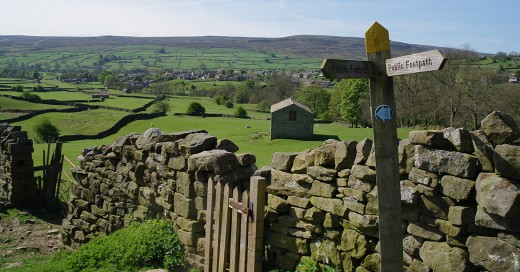 Further west, the Yorkshire Dales was populated after the Harrying of the North in AD 1069 by the descendants of Norsemen from across the Pennines