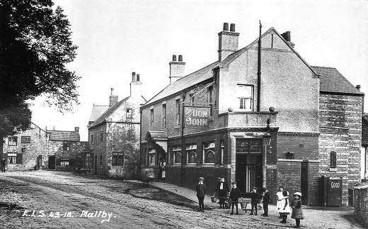 Maltby near Rotherham, then in the West Riding not far from the Great North Road - now the A1
