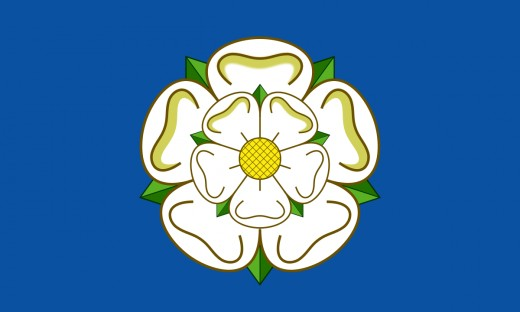 The White Rose of Yorkshire that saw its origins as a symbol of Yorkshire regiments in the Seven Years' War of the 18th Century