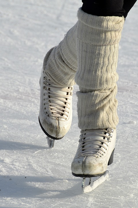 Ice skates came a few years after regular skates that young people used for skating on sidewalks.