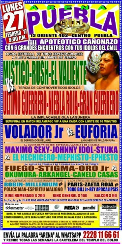 CMLL Puebla: Mailed In