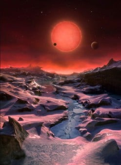 On The Discovery of Planets Orbiting A Dwarf Star