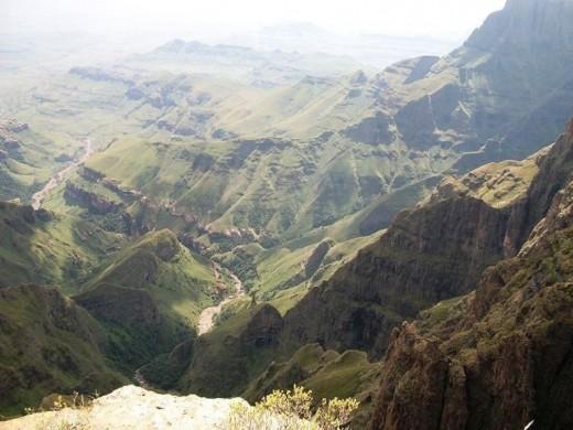 Drakensbege, Tugela River valley, Tugela Falls vicinity, KZN