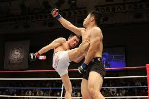 Martial arts players are prone to heavy punches needing mouth guards for protection.
