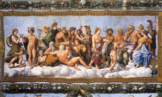 The Greek God pantheon has dozens of gods and goddesses just waiting to get to know you!