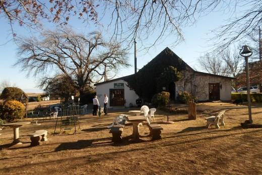 Van Reenen Tea Garden next to Smallest Church, KZN, South Africa