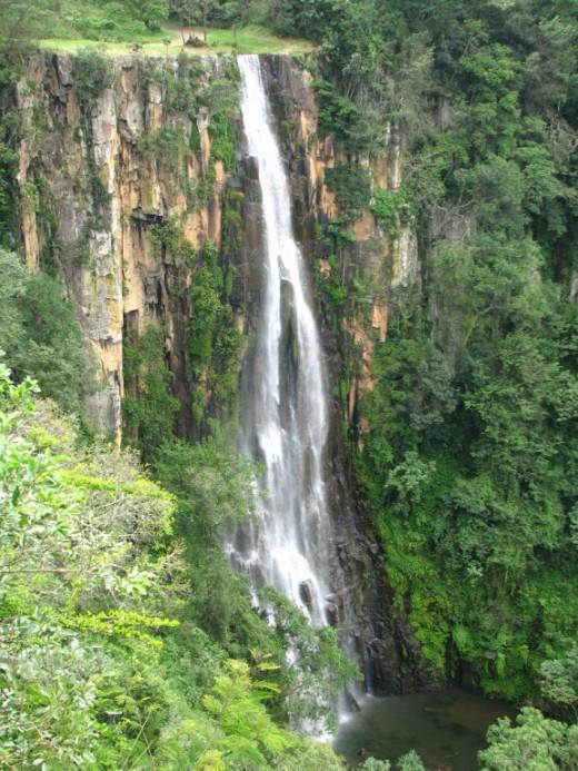 Qunu Falls, Drakensberge, KZN, South Africa