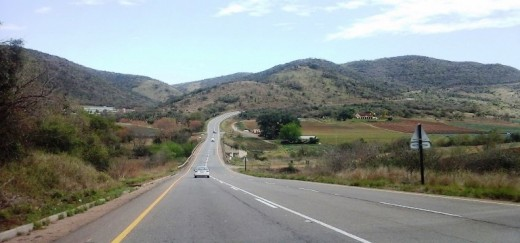 En route to Ixopo, KZN, South Africa