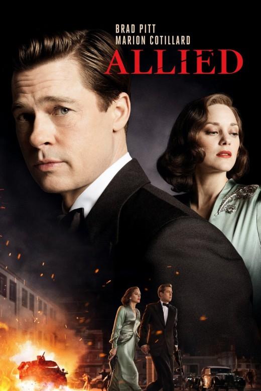 Allied (alternate) movie poster