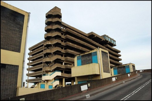 The film makes good use of the urban landscape such as Trinity Square car park in Gateshead