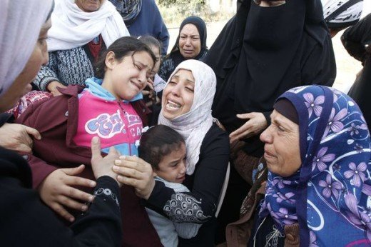 Women Cry in Middle East