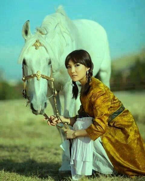 Lena and her horse