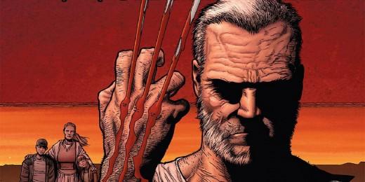 Old Man Logan comic book cover