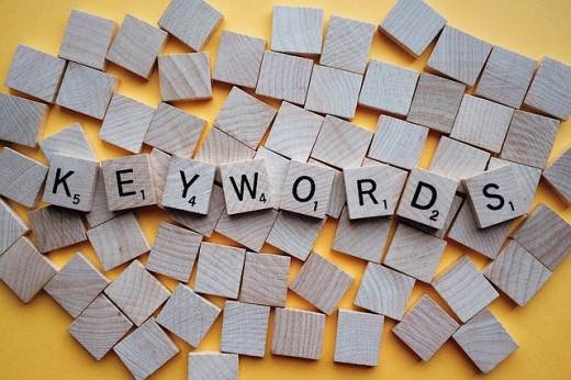 The right keywords provide a path for recruiters to find you.