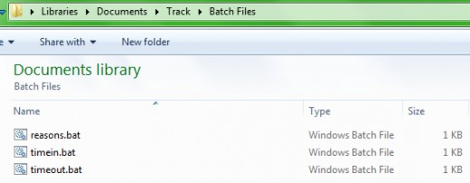Unlike your partners, these batch files don't ask for too much (disk space).