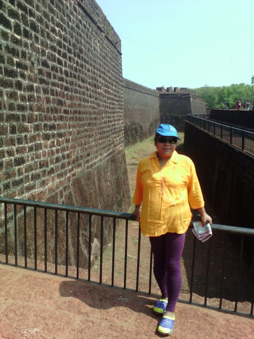 Papu at Aguada Fort