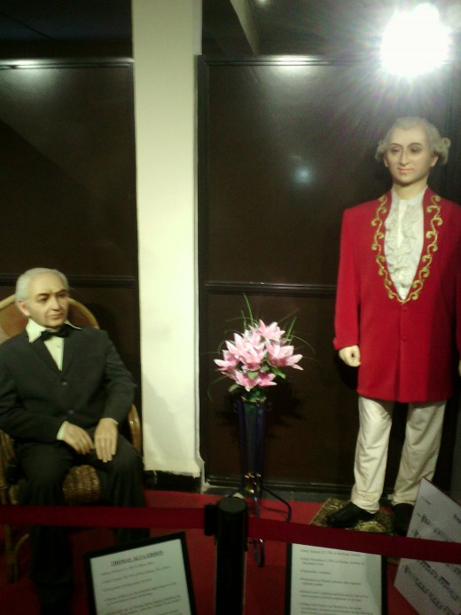 Wax museum at Goa