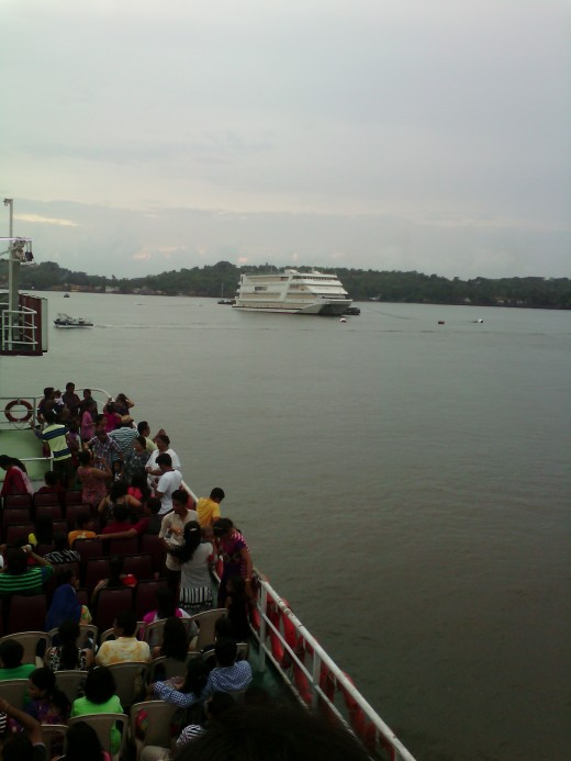 Over Mandovi river