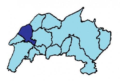 Map of Konz district