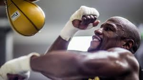 Floyd Mayweather not only won titles as a professional boxer but he also won a bronze medal in the 1996 Olympics.