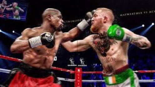 Floyd Mayweather would have a huge advantage if the 2 men fought, mainly because the bout would be inside a boxing ring and under boxing rules.