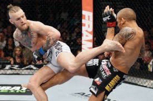Conor McGregor knocked Jose Aldo out to unify the UFC Featherweight division.